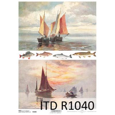 Бумага рисовая ITD A4 - R1040