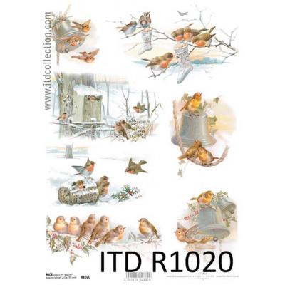 Бумага рисовая ITD A4 - R1020