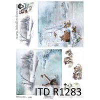 Бумага рисовая ITD A4 - R1283