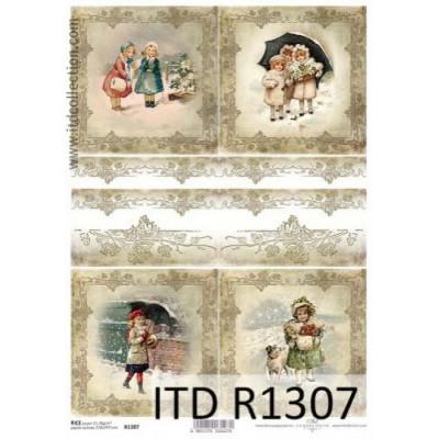 Бумага рисовая ITD A4 - R1307