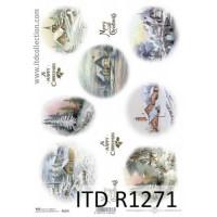Бумага рисовая ITD A4 - R1271