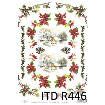 Бумага рисовая ITD A4 - R446