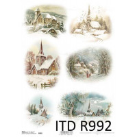 Бумага рисовая ITD A4 - R992