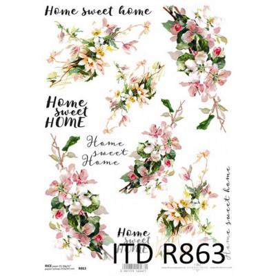 Бумага рисовая ITD A4 - R863