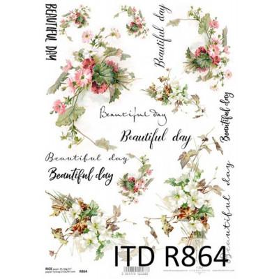 Бумага рисовая ITD A4 - R864