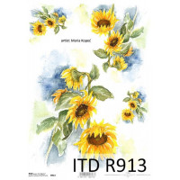 Бумага рисовая ITD A4 - R913