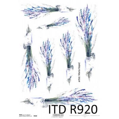 Бумага рисовая ITD A4 - R920