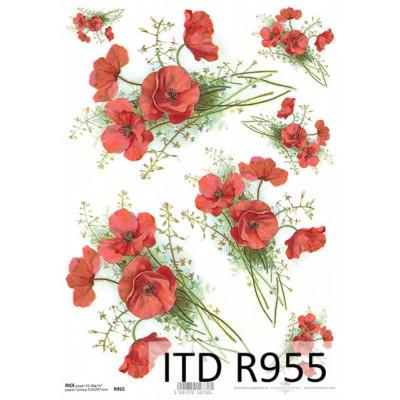 Бумага рисовая ITD A4 - R955