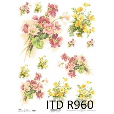 Бумага рисовая ITD A4 - R960