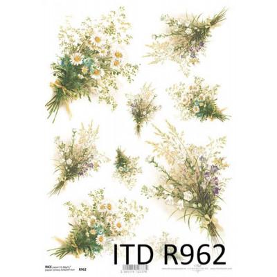 Бумага рисовая ITD A4 - R962