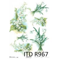 Бумага рисовая ITD A4 - R967