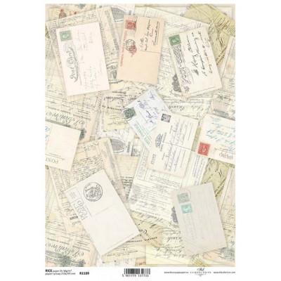 Бумага рисовая ITD A4 - R1109