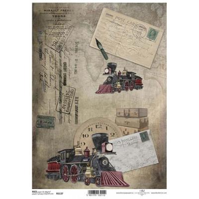 Бумага рисовая ITD A4 - R1137