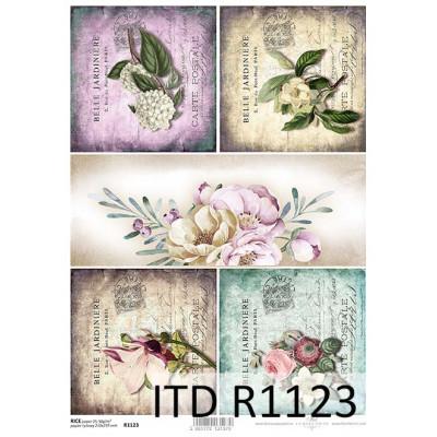 Бумага рисовая ITD A4 - R1123