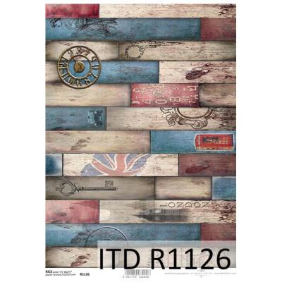 Бумага рисовая ITD A4 - R1126