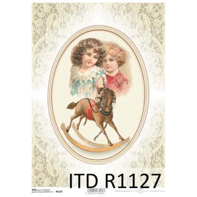 Бумага рисовая ITD A4 - R1127