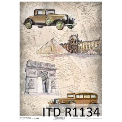 Бумага рисовая ITD A4 - R1134