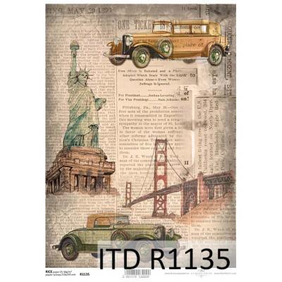 Бумага рисовая ITD A4 - R1135