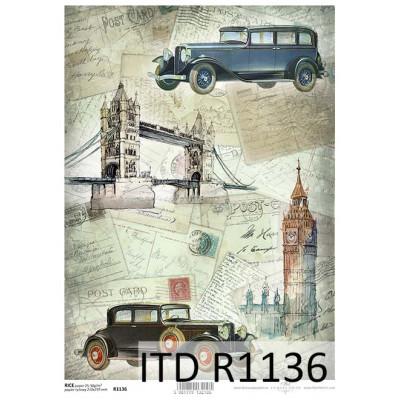 Бумага рисовая ITD A4 - R1136