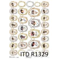 Бумага рисовая ITD A4 - R1329