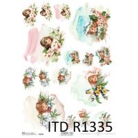 Бумага рисовая ITD A4 - R1335