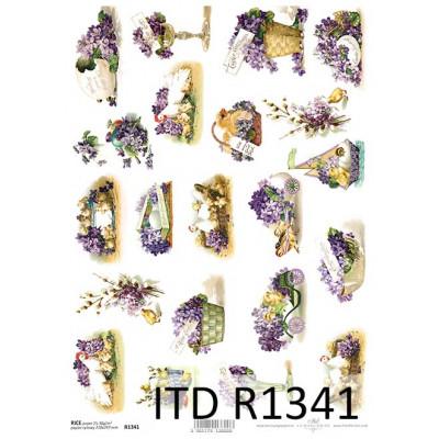 Бумага рисовая ITD A4 - R1341
