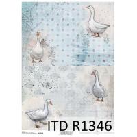Бумага рисовая ITD A4 - R1346