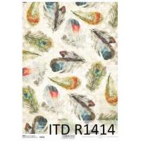 Бумага рисовая ITD A4 - R1414