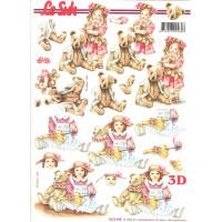Бумага для 3Д - Техники А4 8215.449