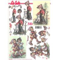 Бумага для 3Д - Техники А4 4169.140