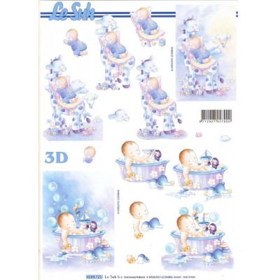 Бумага для 3Д - Техники А4 4169.721