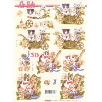 Бумага для 3Д - Техники А4 8215.270