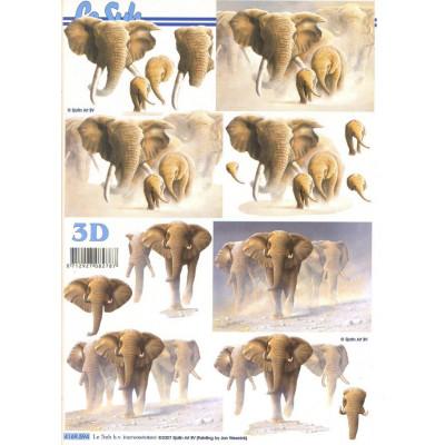Бумага для 3Д - Техники А4 4169.594