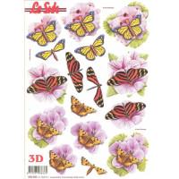 Бумага для 3Д - Техники А4 с высечками 680.006