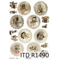 Бумага рисовая ITD A4 - R1490