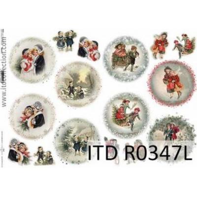 Бумага рисовая ITD A3 - R347L