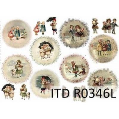 Бумага рисовая ITD A3 - R346L