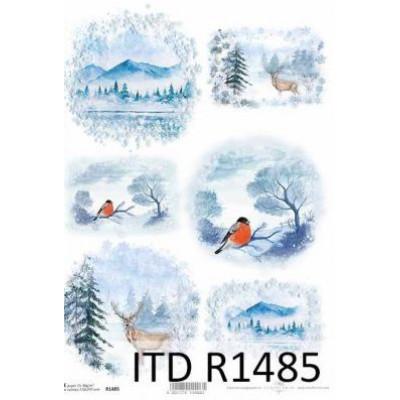 Бумага рисовая ITD A4 - R1485