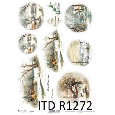 Бумага рисовая ITD A4 - R1272