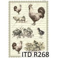 Бумага рисовая ITD A4 - R268