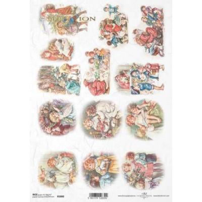 Бумага рисовая ITD A4 - R1000