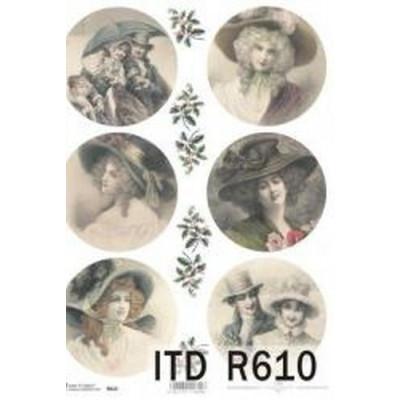 Бумага рисовая ITD A4 - R610
