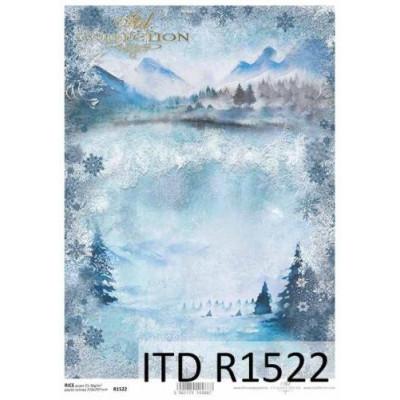 Бумага рисовая ITD A4 - R1522