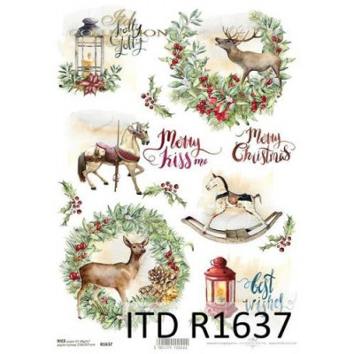 Бумага рисовая ITD A4 - R1637