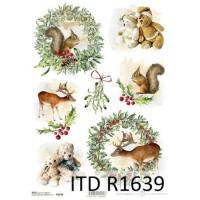Бумага рисовая ITD A4 - R1639