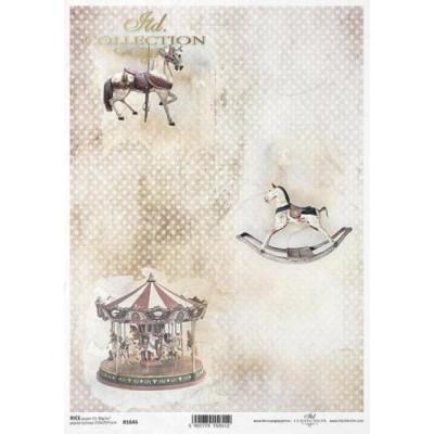 Бумага рисовая ITD A4 - R1646
