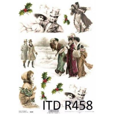 Бумага рисовая ITD A4 - R458