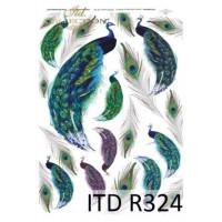 Бумага рисовая ITD A4 - R324