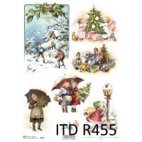 Бумага рисовая ITD A4 - R455