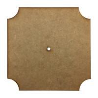 Основа для годинника квадратна зрізана Ш-25 см